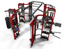 China Professional Synergy Gym Equipment , Multi Functional Synergy 360 Fitness Machine factory