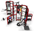 China Multi Station Synergy Gym Equipment , Cable Crossover Synergy Workout Machine factory