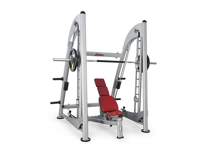 Professional Life Fitness Strength Equipment Smith Machine Compressible Power Rack
