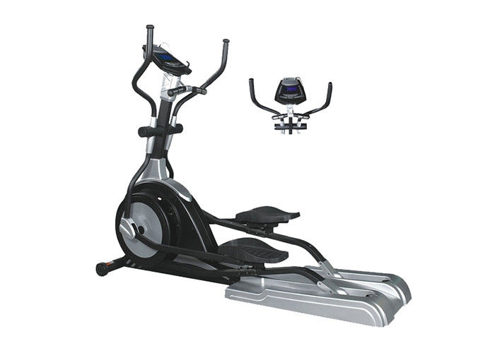 Magnetic Wheel Stationary Exercise Bike Self - Powered Elliptical Cross Trainer