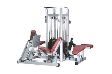 4 Station Commercial Multi Station Gym Equipment Integrated Sports Exercise Machine