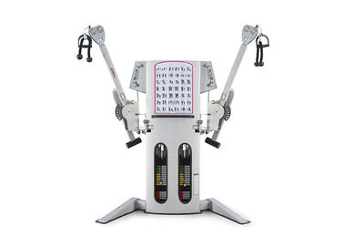 Multi Station Commercial Gym Fitness Equipment Free Motion Dual Cable Cross Machine