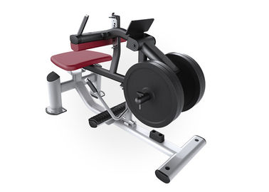 China Free Weights Hammer Strength Plate Loaded Equipment / Seated Calf Raise Machine factory