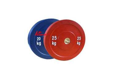 China Multicolored Gym Workout Accessories Professional Bodybuilding Olympic Weight Plates factory