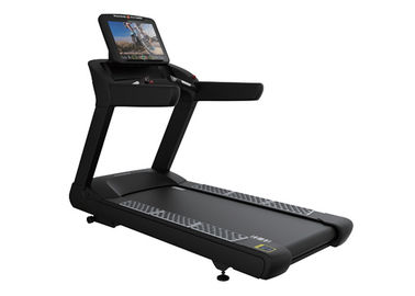 China Touch Screen Commercial Treadmill For Gym / Walking Impulse Aluminum Alloy Column Treadmill Machines factory