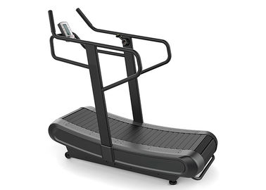 China Commercial Cardio Woodway Curve Treadmill For Gym Running Exercise Slim Machine factory