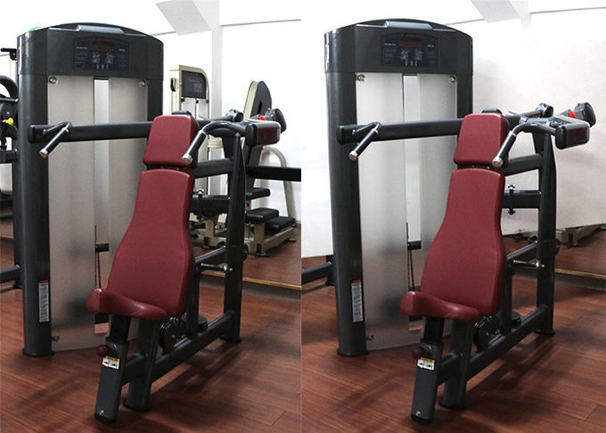 Commercial Grade Gym Weight Machines , Life Fitness Shoulder Press Machine