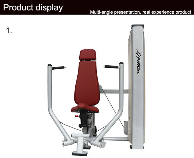 Heavy Duty Matrix Commercial Fitness Equipment Steel Frame Fly / Chest Press Machine